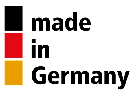 "You can see the logo ""Made in Germany"""
