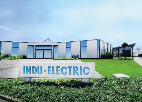 You can see a picture of the main building of the company INDU-ELECTRIC.