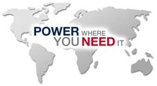 """Vous pouvez voir un graphique avec le texte """"power where you need it"""""""