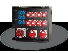 THERMOLENE® stapelbarer mobiler Verteiler 125A