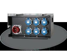 THERMOLENE® stapelbarer mobiler Verteiler 63A