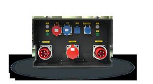 Hier sehen Sie ein Bild eines automatischen Netzumschalters ATS der Firma INDU-ELECTRIC
