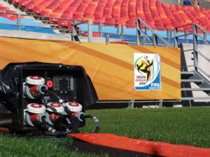 Stromverteiler von INDU-ELECTRIC bei der Fußball Weltmeisterschaft.