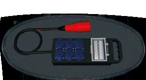 Hier sehen Sie ein Bild eines Kleinverteilers der Firma INDU-ELECTRIC