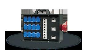Hier sehen Sie ein Bild eines Kofferverteilers der Firma INDU-ELECTRIC