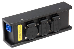 THERMOLENE® Powercon 3-fach Schukoblock