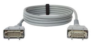 INDU-ELECTRIC - Multicore Verlängerungen grau