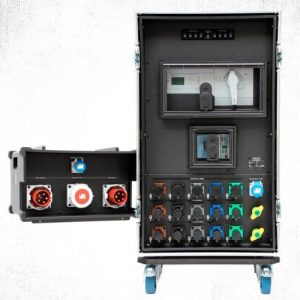 Sie sehen ein Bild von automatischen Netzumschaltern der Firma INDU-ELECTRIC.