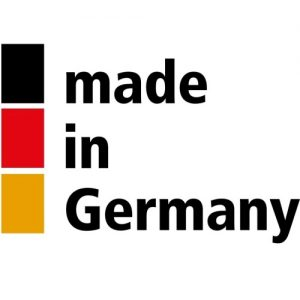 "Sie sehen ein Logo ""Made in Germany"""