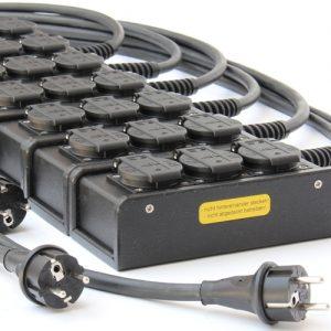 Sie sehen ein Bild von Schukoblöcken der Firma INDU-ELECTRIC.