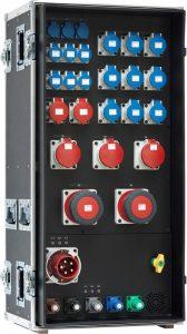 INDU-ELECTRIC THERMOLENE® Umschalt-Verteiler 400A auf 125A im Flightcase