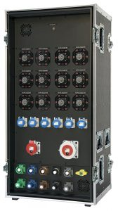 INDU-ELECTRIC THERMOLENE® 72 Way Touring Rack im Flightcase