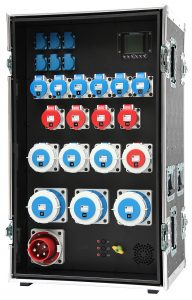 INDU-ELECTRIC THERMOLENE® 125A Hauptverteiler Typ59 im Flightcase