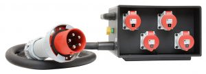 INDU-ELECTRIC THERMOLENE® mobiler Verteiler 125A