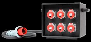 INDU-ELECTRIC THERMOLENE® mobiler Verteiler 63A
