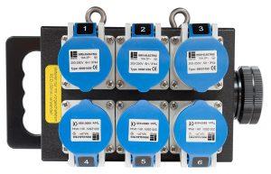 INDU-ELECTRIC THERMOLENE® Kleinverteiler Typ10 19 Pin