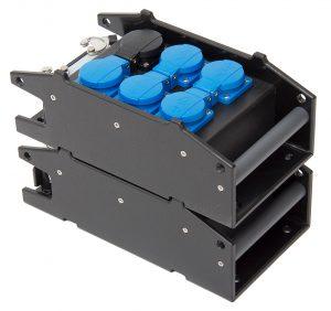 INDU-ELECTRIC THERMOLENE® Kleinverteiler Typ10 Multicore 16 P+E