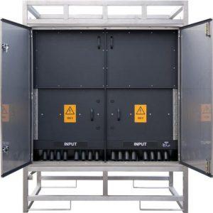 INDU-ELECTRIC Baustromverteiler im Edelstahlgestell