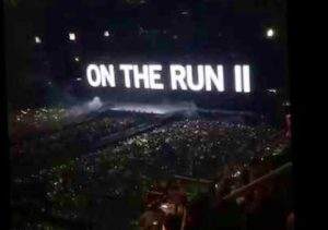 Beyonce & Jay-Z on the run 2 World Tour