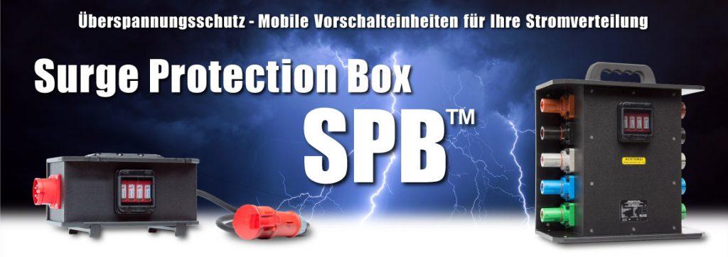 Überspannungsschutz - die Surge Protection Box SPB™ von INDU-ELECTRIC