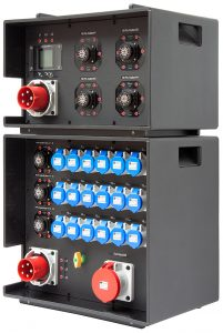 INDU-ELECTRIC stapelbare mobile Stromverteiler