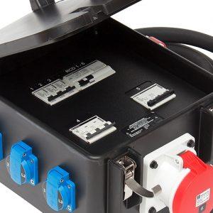 Vollgummi Stromverteiler von INDU-ELECTRIC