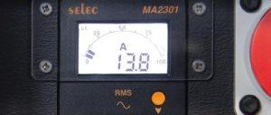 INDU-ELECTRIC digitales 3-Phasen Amperemeter